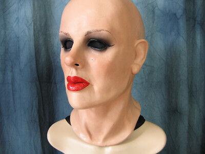 Latexmaske KATE - Real. weibliche Frauen Maske Frau Gesicht Crossdresser Trans
