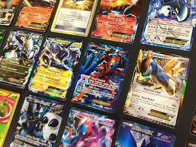 Pokemon Card Lot 100 OFFICIAL TCG Cards Ultra Rare Included - GX EX MEGA + HOLOS 6