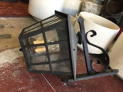 Spanish Revival Reproduction Exterior Side Mount Wall Sconce Garden Lights 4