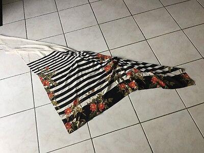 Haut foulard KOOKAI  taille 2 noir /blanc soit 38/40 neuf 3