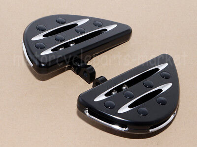 Parts & Accessories Rear Passenger Floorboards Floor Boards Foot Pegs For Harley Electra Glide Dyna