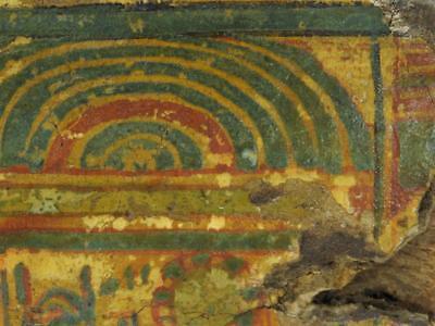 1500 BC Egyptian Canopic Jar Sarcophagus Fragment Lot 287