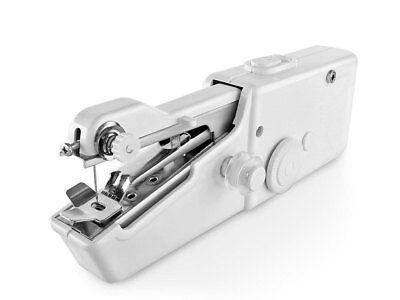 Macchina da cucire portatile mini cucitrice da viaggio con ago e filo cucito 2