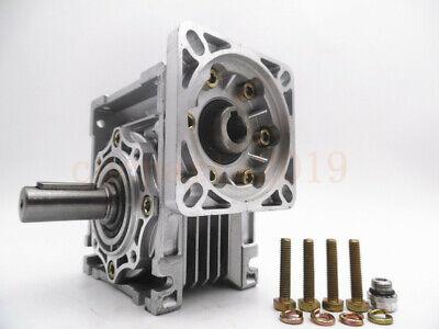 Gearbox Worm Gear Reducer NEMA34 Stepper Motor Ratio 10 20 25 40 50 60 80 100:1 3