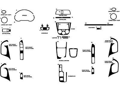 Outback 2010-2014 Rdash Carbon Fiber Dash Kit for Subaru Legacy