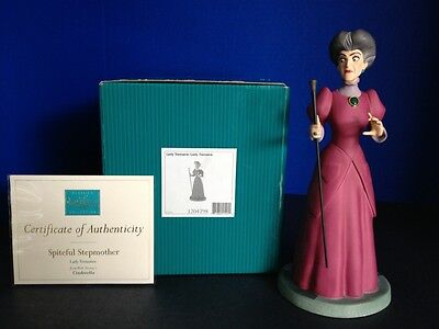WDCC  DISNEY CINDERELLA  LADY TREMAINE SPITEFUL STEPMOTHER  RARE  MIB