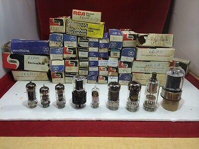 NOS 12AD6 12BA6 12BY7A 12CA5 12DB5 Vintage Radio Vacuum Tubes