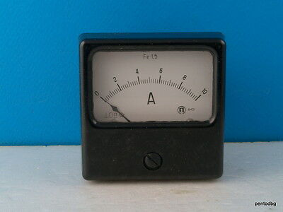 DC 0-10A aktuellen Ampere Analog Meter Ammeter 44C2