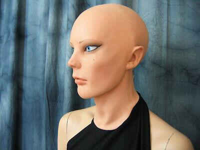 Latexmaske LIV STARLET +AUGEN Real. Frauenmaske Gummi Frau Zofe Trans Swinger 10
