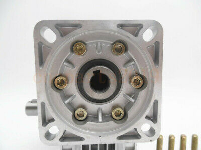 Gearbox Worm Gear Reducer NEMA34 Stepper Motor Ratio 10 20 25 40 50 60 80 100:1 9