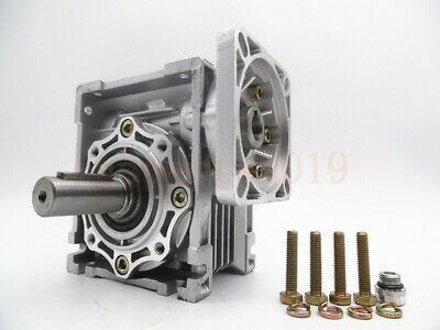 Gearbox Worm Gear Reducer NEMA34 Stepper Motor Ratio 10 20 25 40 50 60 80 100:1 7