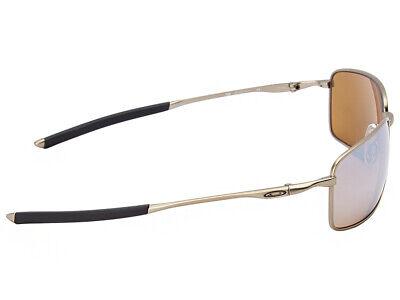 5b454f745fe9 ... Oakley Ti Square Wire Polarized Sunglasses OO6016-01 Titanium/Titanium  Iridium 3