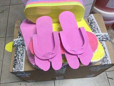 e6809fe8b896 ... 360 Pairs Disposable Spa Pedicure foam flip flop slippers (fold type) 5