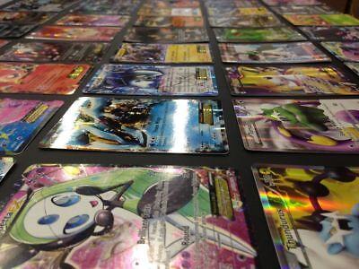 GX EX Mega Pokemon Card Lot 100 OFFICIAL TCG Cards Ultra Rare Included HOLOS