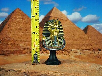 Egypt Egyptian Civilization Pyramid Pharaoh King Tut Mummy Statue Figure K1166 A