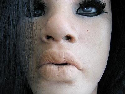 Latexmaske MAYLEE +WIMPERN - Real. weibliche Frauenmaske Gummimaske Crossdresser 8