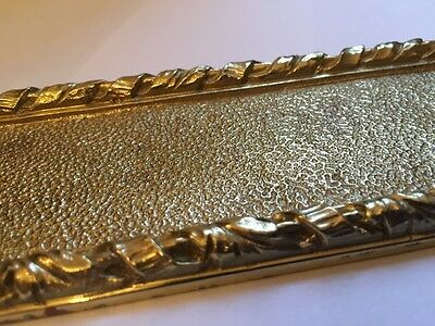 Solid Brass Door Finger Plate Heavy Casting Good Quality British Made 6