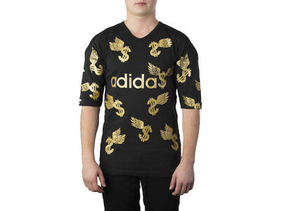 best service the cheapest cheap for discount JEREMY SCOTT ADIDAS Glitter Wings Dollar Jersey T-Shirt XS ...