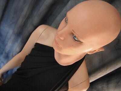 Latexmaske LIV STARLET +AUGEN Real. Frauenmaske Gummi Frau Zofe Trans Swinger 12