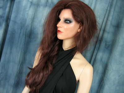 Latexmaske KEIRA +WIMPERN +PERÜCKE Real. Frauenmaske Gesicht Trans Crossdresser 8