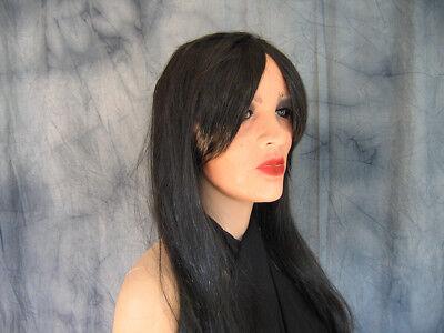 Frauenmaske MARILYN +WIMPERN +PERÜCKE - weiblich Latex Gummi Maske, no Silikon