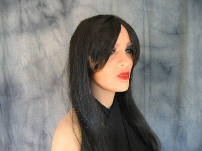 Latexmaske MARILYN +WIMPERN +PERÜCKE - Real. weibliches Frauengesicht Frau Trans 5
