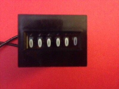 Lot Of (5) Durant-Eaton 6-Y-41610-406-Seu-6 Digit Electronic Counter-120Vac-5Va