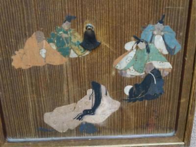 Japanese Polychromed Tea Tansu Lot 624