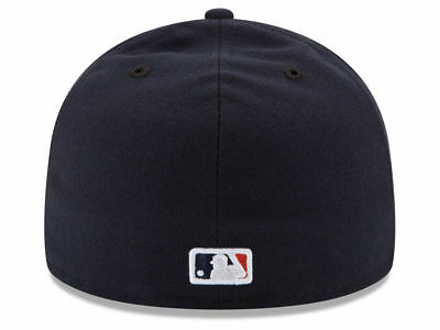 New Era Houston Astros HOME 59Fifty Fitted Hat (Navy) MLB Cap 2