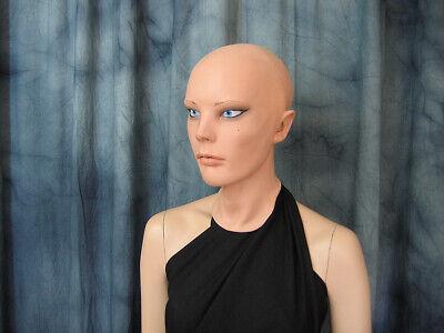 Latexmaske LIV STARLET +AUGEN Real. Frauenmaske Gummi Frau Zofe Trans Swinger 8