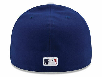 New Era 59Fifty Los Angeles LA Dodgers Game Fitted Hat (Dark Royal) MLB Cap 2