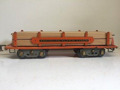 "American Flyer Wide Gauge 12"" Wood Lumber Load for Standard 4023 Log Car or 4022"