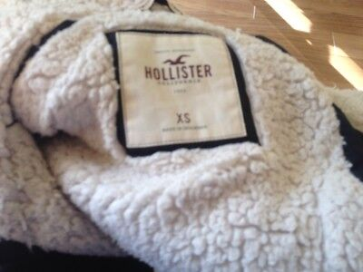 Hollister  Body Warmer Xs Blue Really Warm 6