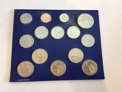 2011 United States Mint Uncirculated Coin Set Denver Philadelphia 28 Coins 6