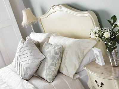 Juliette Shabby Chic Champagne 5FT King size Bed, Cream French bed frame QUALITY 3