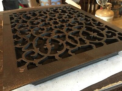 Antique Oversized Heating Grate unique Ornate Odd Size Tc 71 2