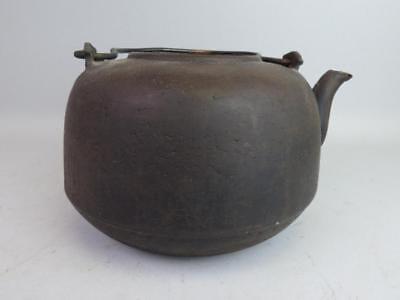 Two Japanese Cast Iron Teapots Lot 486