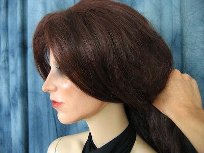 Latexmaske KEIRA B+WIMPERN +PERÜCKE Real. Frauenmaske Gesicht Trans Crossdresser 6