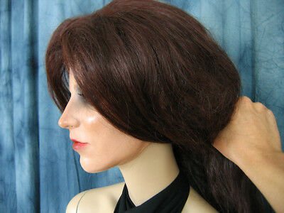 Latexmaske KEIRA +WIMPERN +PERÜCKE Real. Frauenmaske Gesicht Trans Crossdresser 6
