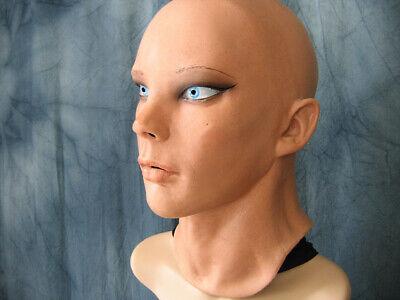 Latexmaske LIV STARLET +AUGEN Real. Frauenmaske Gummi Frau Zofe Trans Swinger 3