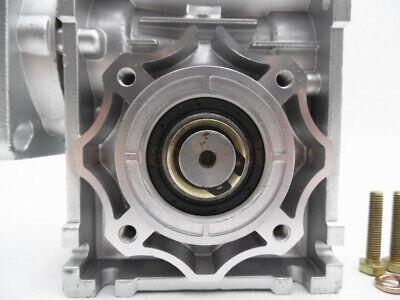Gearbox Worm Gear Reducer NEMA34 Stepper Motor Ratio 10 20 25 40 50 60 80 100:1 8