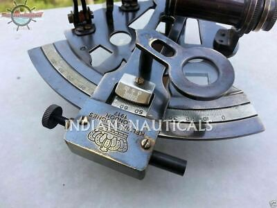 Sextant Nautical Antique Brass Marine Maritime Solid Ship Sextant Style New Gift 2