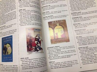 CHILDREN'S BOOKS 1850-1950 Identification Price Collector's Guide BOOK 1950-1975
