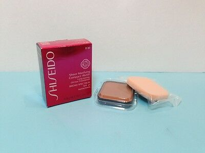 Shiseido - Sheer Matifying  Compact (Refill) - Very Deep Brown -.34 Oz Boxed 2