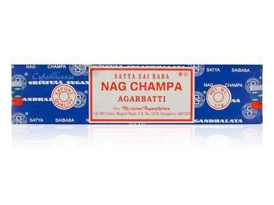 3 Packs Original Satya Sai Baba Nag Champa Incense Sticks Joss Insence Genuine 3
