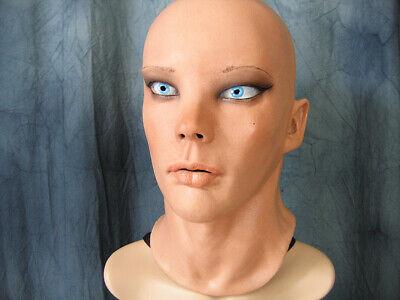Latexmaske LIV STARLET +AUGEN Real. Frauenmaske Gummi Frau Zofe Trans Swinger 2