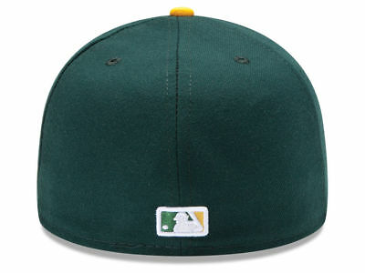 brand new b859c a5fab ... New Era Oakland Athletics HOME 59Fifty Fitted Hat (Green Yellow) MLB  Cap 2