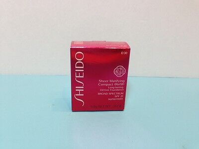Shiseido - Sheer Matifying  Compact (Refill) - Very Deep Brown -.34 Oz Boxed 3