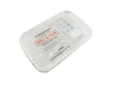 Gießseife Rohseife transparent 1kg Seifengießen Glycerinseife