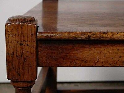Set 8 English Elizabethan Tudor Oak Dining Chairs Chair 9